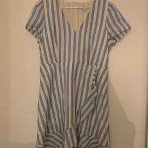 Jcrew candy striped dress